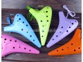 Fengya 12 Hole Alto C Plastic Ocarina, 5 Colors Available