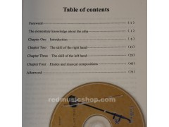 Erhu tutorial book+DVD(English)