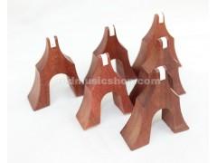 Rosewood Guzheng Bridges, 1 Set (21 Pieces)
