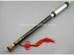 Professional Ebony Bawu Flute, Played Vertically
