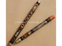 Purple Bamboo Flute,Dizi Kit,Imitation OX Horns,Pluggable