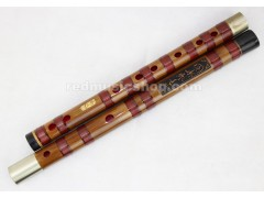 Professional bamboo Dizi flute by Xie Bing, 2 Sections