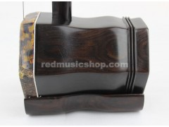 Engraved professional Ebony ERHU,with tutorial book+DVD(English)