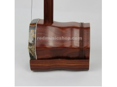 Engraved Rosewood ERHU,Bronze Tuning Mechanism,with tutorial book+DVD(English)