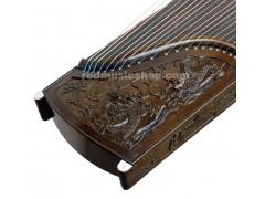 Professional Nanmu Guzheng, Chinese 21-string Zither