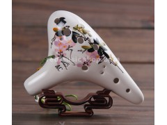 Fengya 12 Hole Ocarina, Hand Painted, 2 Keys Available
