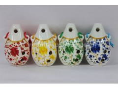 6 Hole Alto C Ocarina Ceramic Flute,OCA-BD, 4 colors available