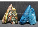Plastic Triple Ocarina Alto C, for Professional